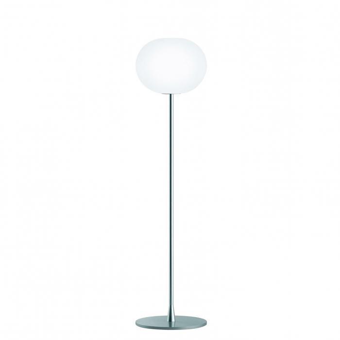 Imagen 1 de Glo Ball F2 lámpara de Pie 175cm E27 150W - Plata mate