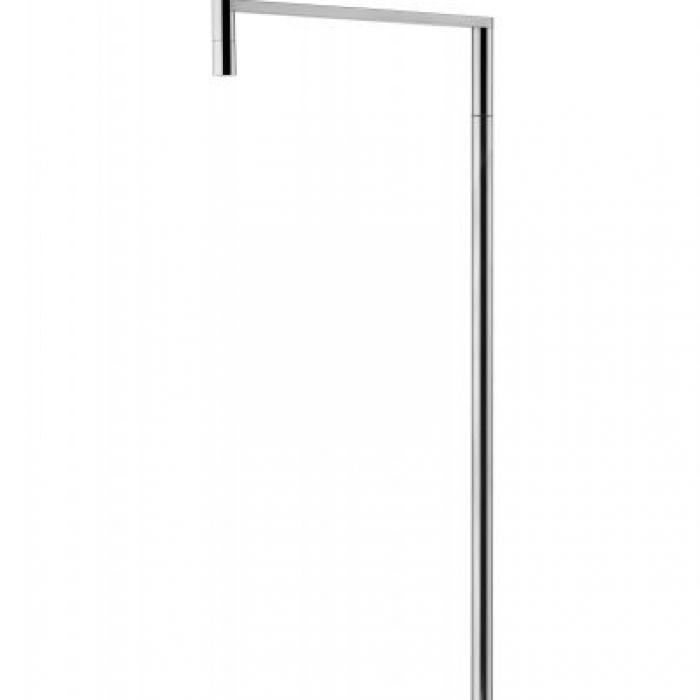 Imagen 1 de Ktribe F1 lámpara de Pie 112cm 1x70W E27 Cromo/Aluminizado Bronce