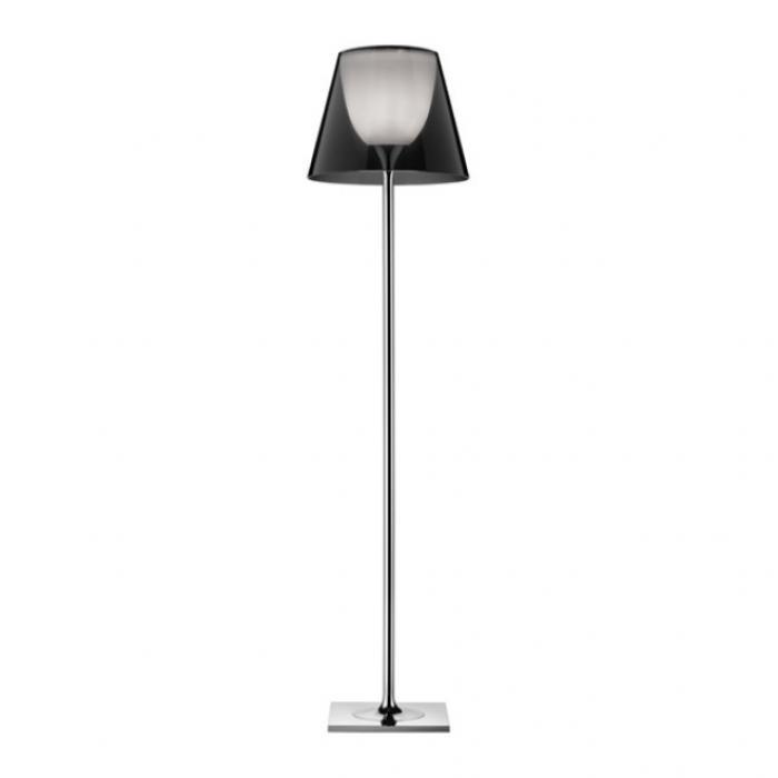 Imagen 1 de Ktribe F2 lámpara de Pie 162cm 1x150w E27 Cromo/Fumé