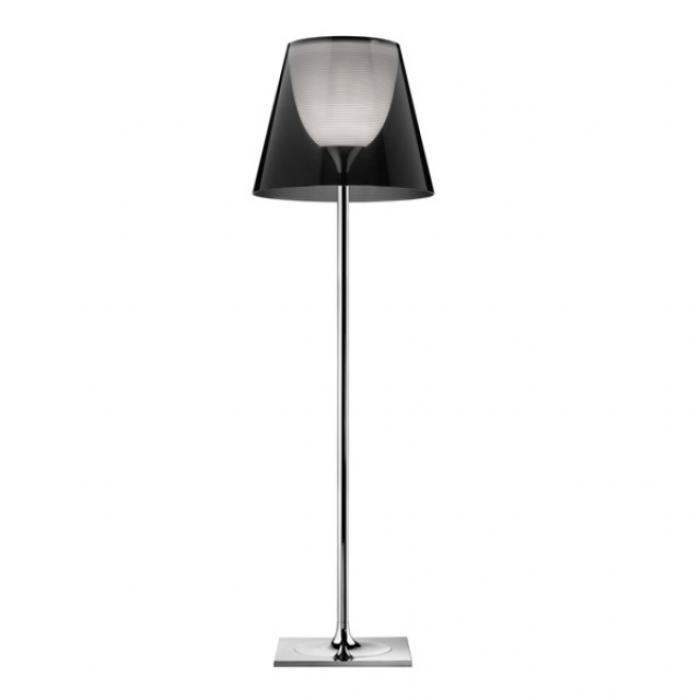 Imagen 1 de Ktribe F3 lámpara de Pie 183cm 1x205w E27 Cromo/Fumé