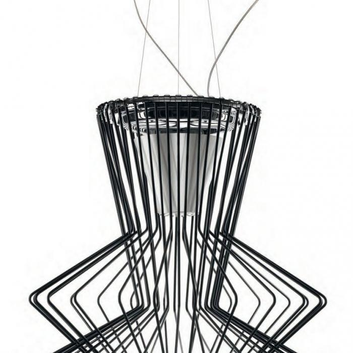 Imagen 1 de Allegro Ritmico Lámpara Colgante ø75cm negro