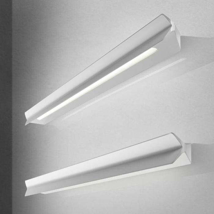 Imagen 1 de Falena 1 Wandleuchte Aluminium Lackiert 22cm weiß