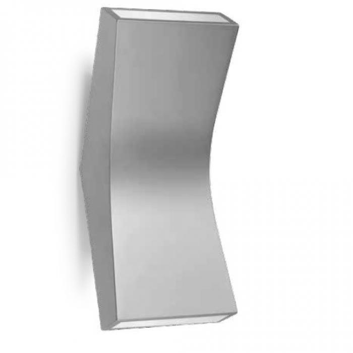 Imagen 1 de Bend Aplique 22cm LED 4,5w 2 haz de luz Aluminio Ecobright