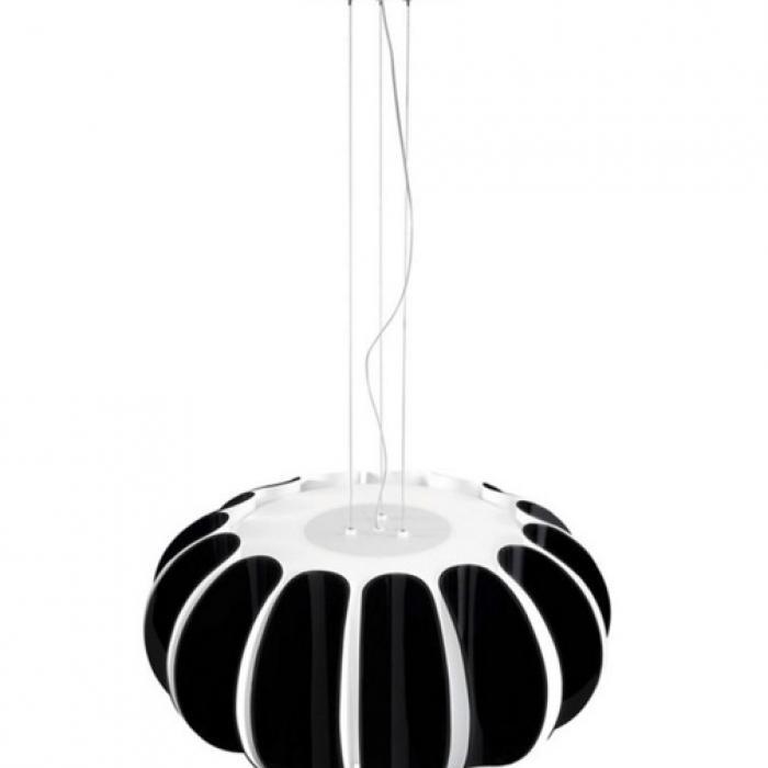 Imagen 1 de Blomma Lámpara Colgante E27 3x23w - negro
