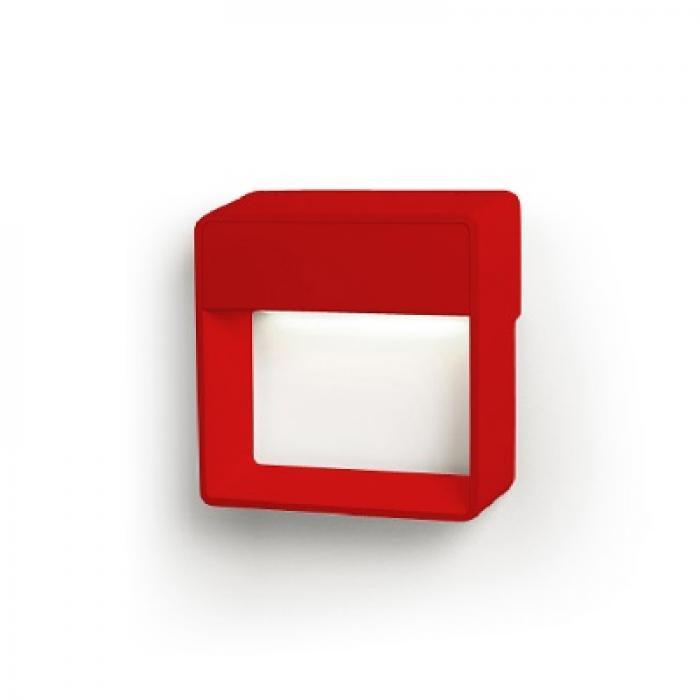 Imagen 1 de Cell Me Aplique LED 3,4W - Aluminio Rojo