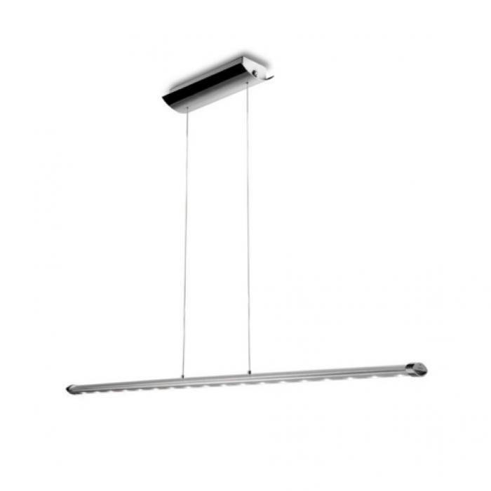 Imagen 1 de Ledagio Lámpara Colgante LED 18W 3000K - Brillante Cromo