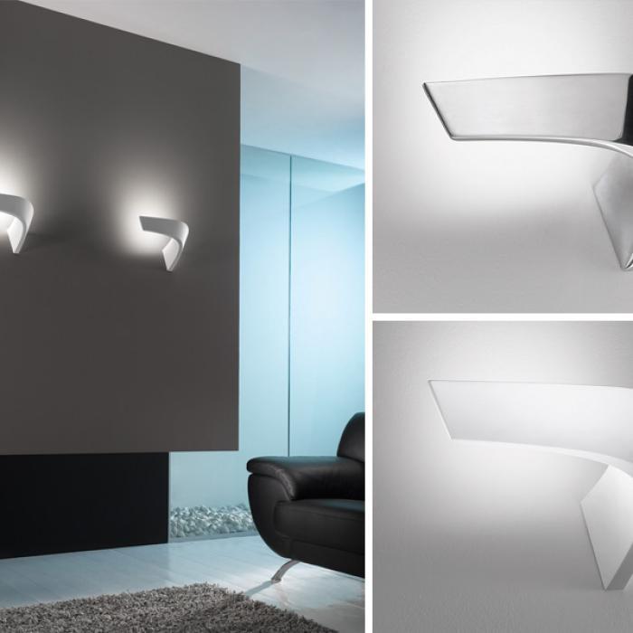 Imagen 1 de Boomerang Wall Lamp white 1x200w R7S
