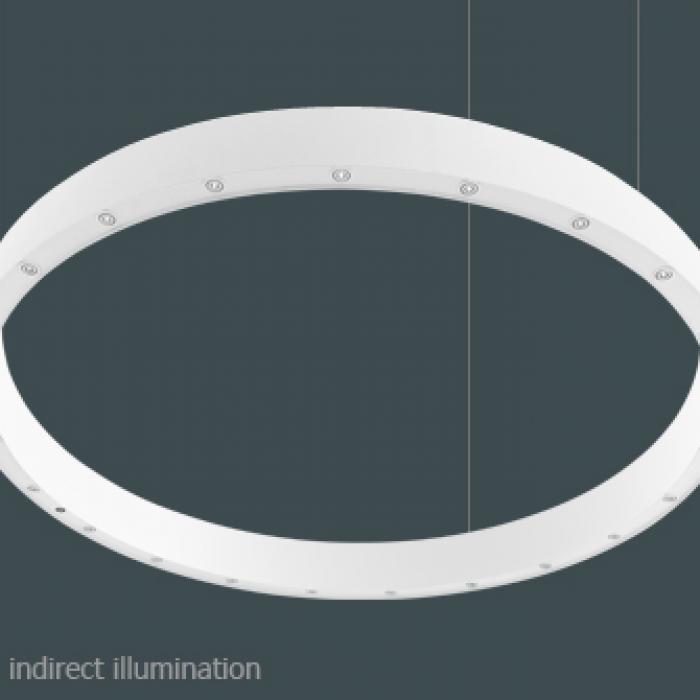 Imagen 1 de Big O LED 23x3W/830 47° white