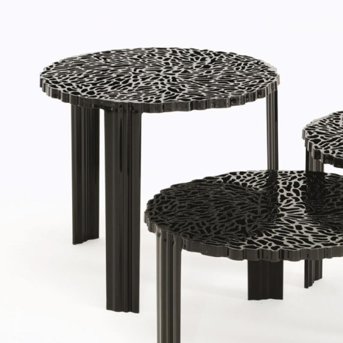 Kartell T Table 28cm altura Mesa 8500 - Lámparas de diseño