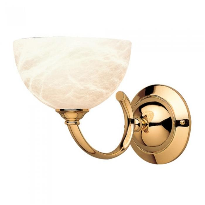 Imagen 1 de Wall Lamp Gold Alabaster white