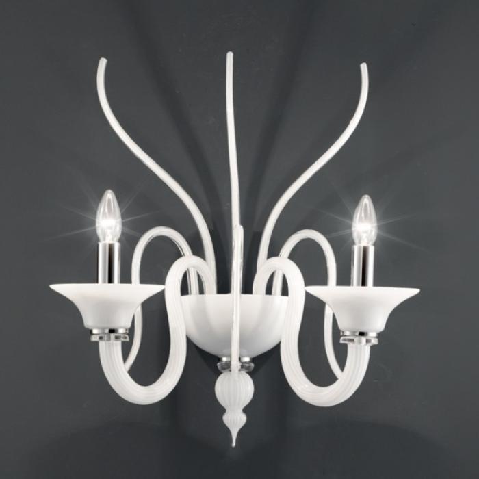 Imagen 1 de Belzebu P2 Wall Lamp Chrome white