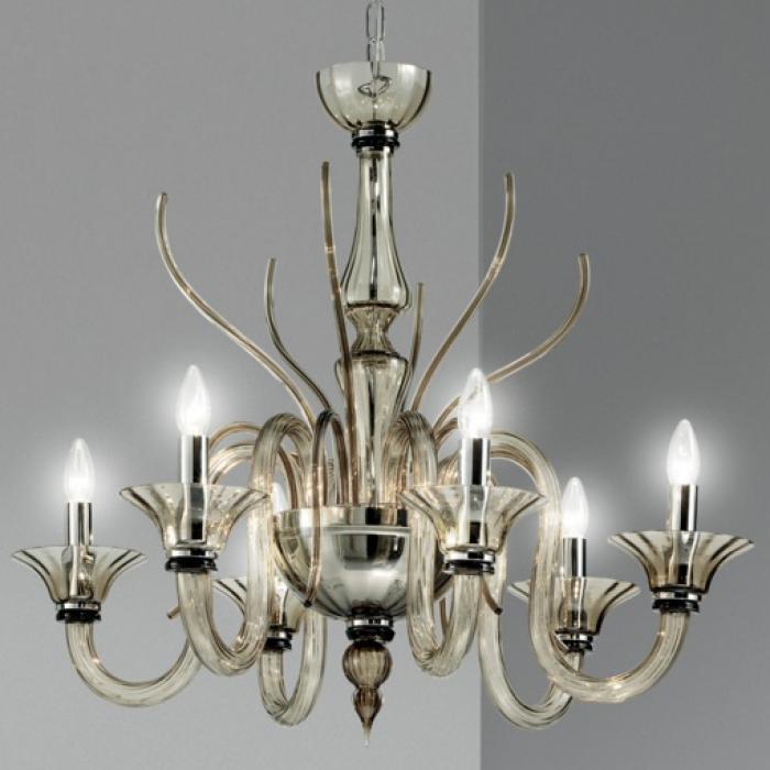 Imagen 1 de Belzebu L6 lamp Pendant Lamp Chrome white