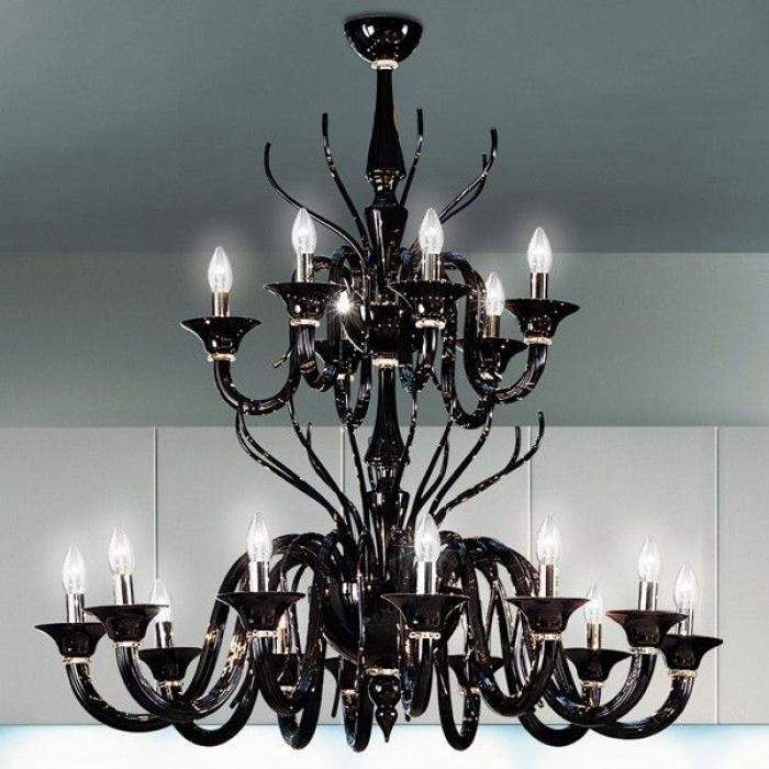 Imagen 1 de Belzebu L18 lamp Pendant Lamp Chrome Black