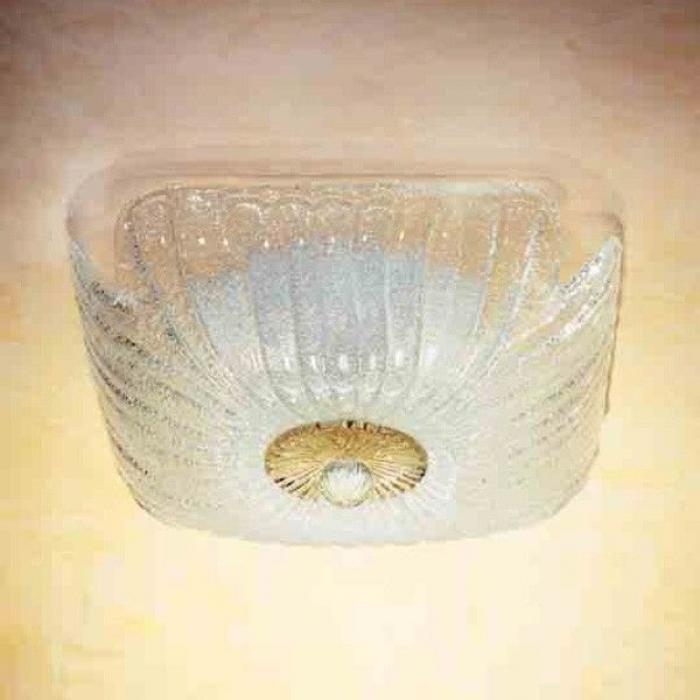 Imagen 1 de Butterfly PL ceiling lamp Glass Sand Hoja Gold