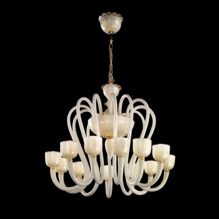 Imagen 1 de Krokus L12 Lamp Pendant Lamp white/hoja Golden