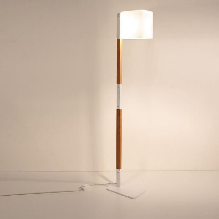 Imagen 1 de Lighthouse F lámpara of Floor Lamp 140cm white/Wood