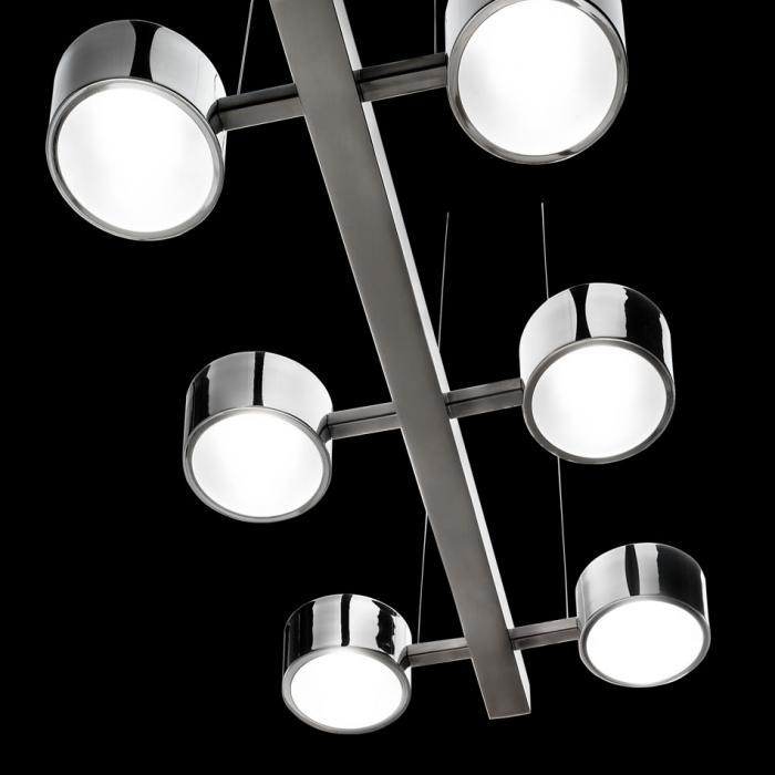Imagen 1 de City S6 Pendant Lamp Nickel/Chrome