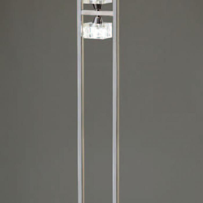 Imagen 1 de Zen lámpara of Floor Lamp leather 4L + Dimmer