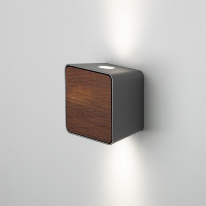 Imagen 1 de Lab Accesorio Tapa para Aplique Iroko Oscuro