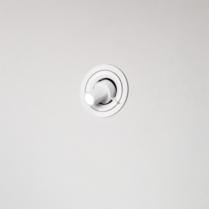 Imagen 1 de LedCompass R Aplique empotrado ø9,5cm LED 3w Negro