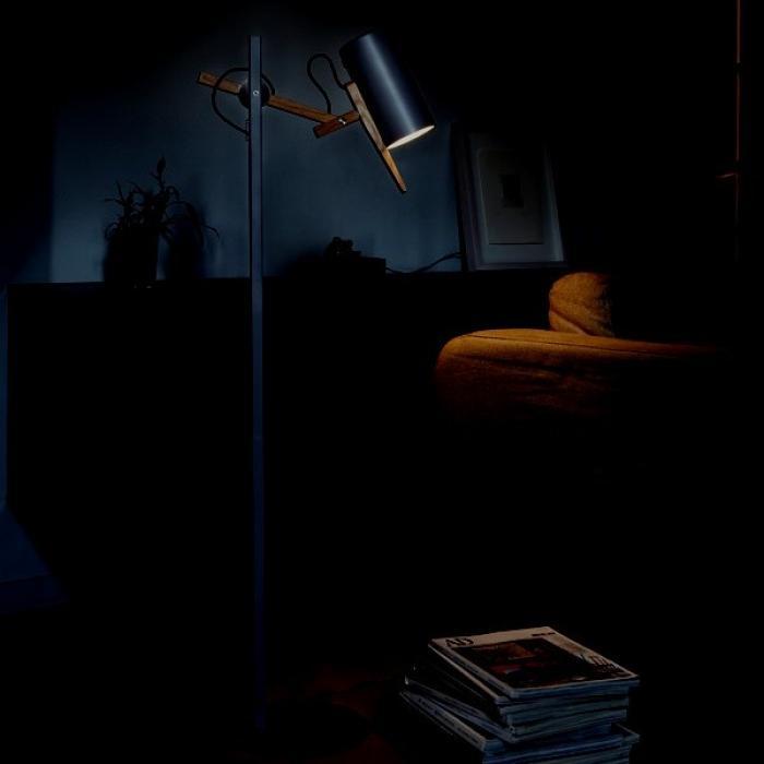 Imagen 1 de Scantling P40 lámpara de Pie E27 PAR20 50W Negro