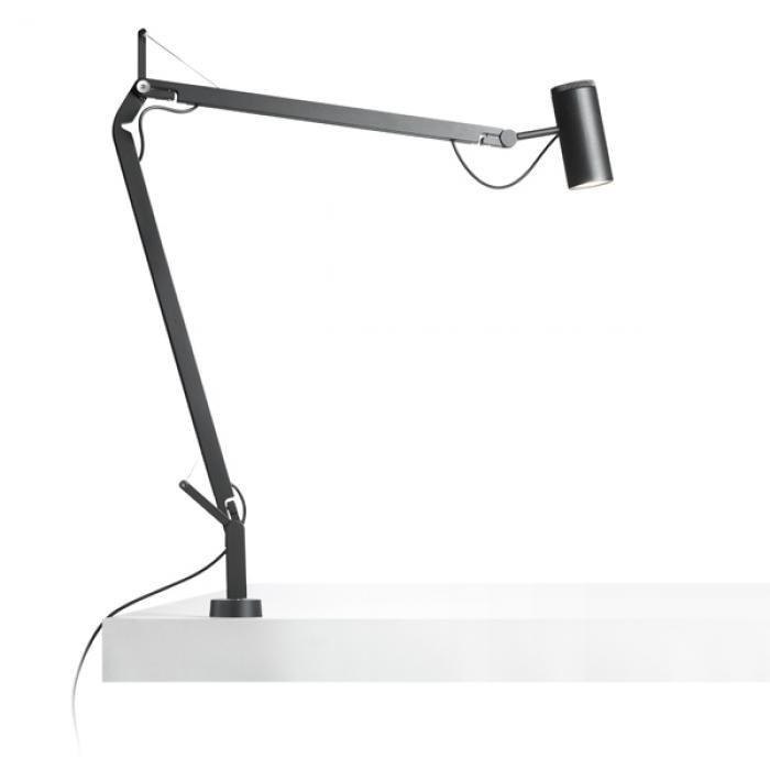 Imagen 1 de Polo (accesorio) Soporte fijo para escritorio negro