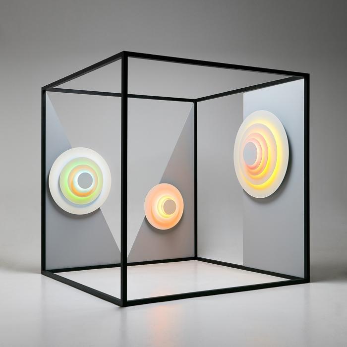 Imagen 1 de Concentric L ø101,5cm LED SMD 7,8W - Corona (Colores flúor)
