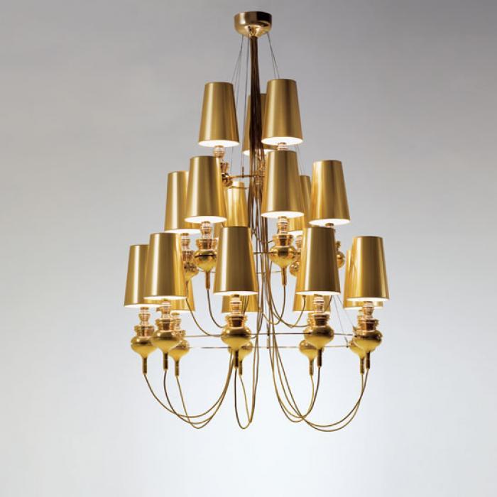 Imagen 1 de Josephine queen 9.6.3 (Structure) Pendant Lamp porcelain Gold