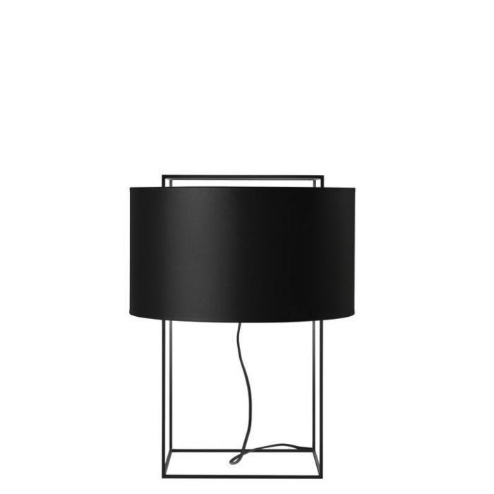 Blanc Lewit Table Lampe Abat JourPour De M47accessoire Ygb76yf