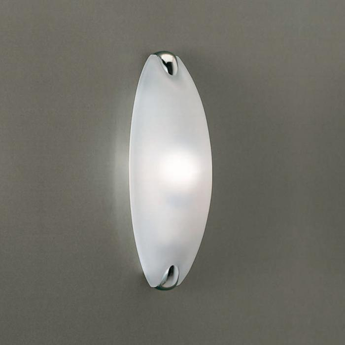Imagen 1 de Dino Wall Lamp 30cm E27 42w dimmable Chrome