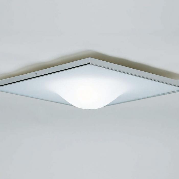 Imagen 1 de Dicky Squar ceiling lamp Square Large nikel
