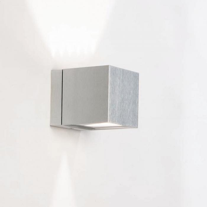 Imagen 1 de Dau Wall Lamp 1 light Doble beam of light G9 Aluminium Anodized white
