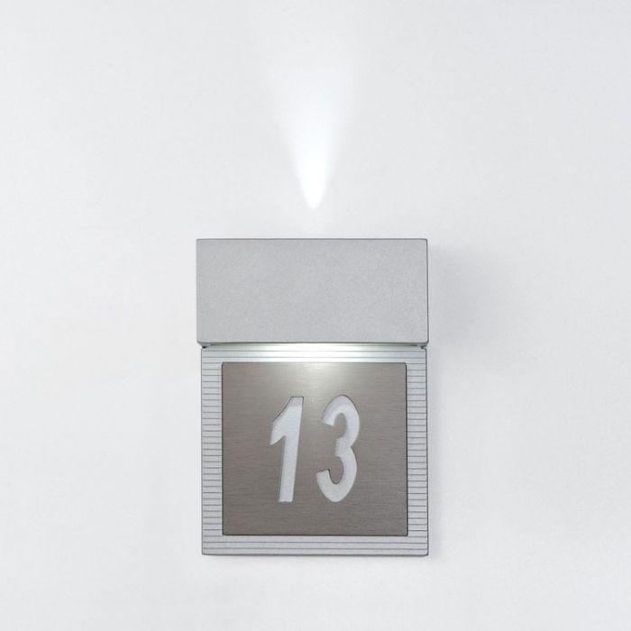 Imagen 1 de hotel Wall Lamp LED 2x4w Grey metallized
