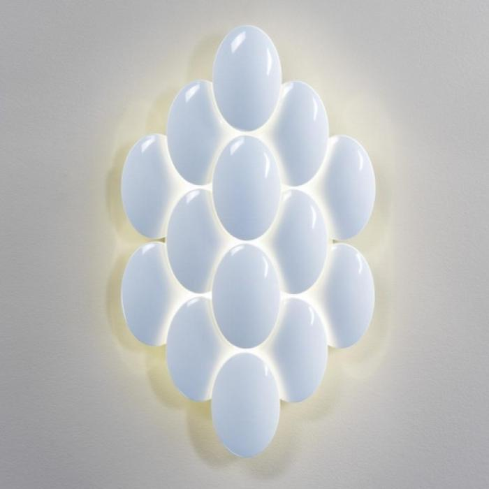Imagen 1 de Obolo 6489 Wall Lamp white LED 12x4w