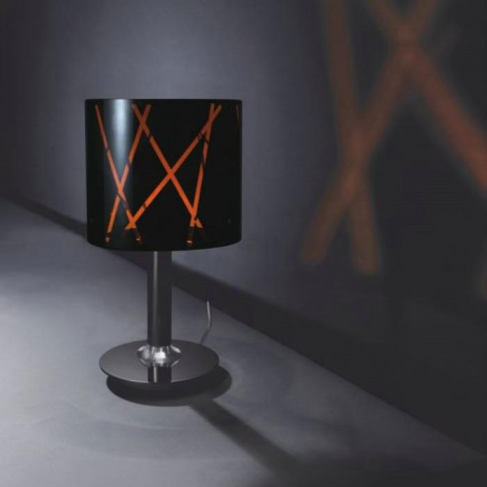 Lamp Titanium 0740089472 Raisa Chrome Modiss 20 Table 6f7byg