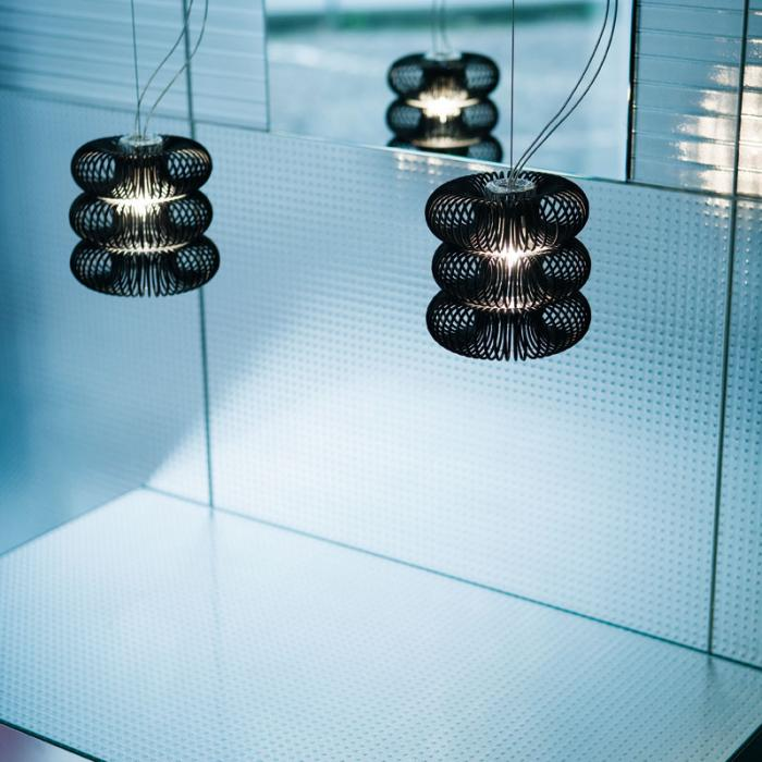 Imagen 1 de Spring SO 2 Pendant Lamp Doble Black