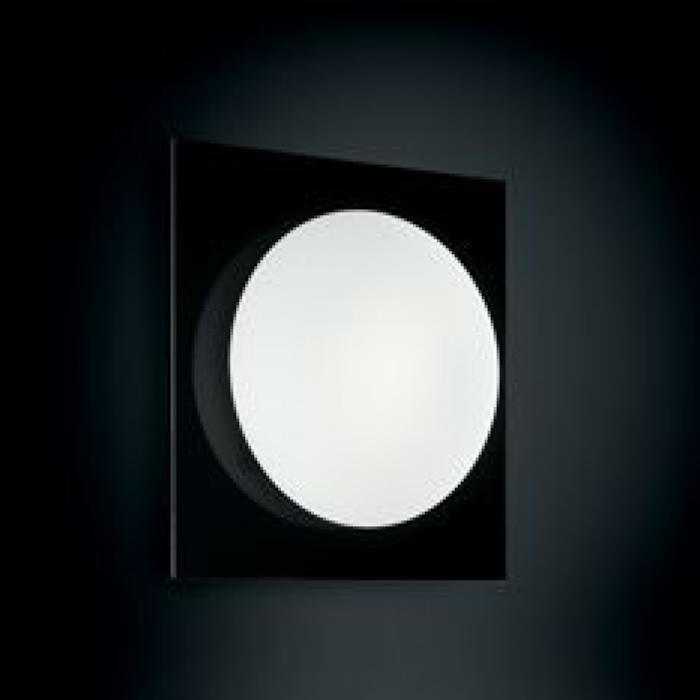 Imagen 1 de Gio 50x50 P PL Aplique/Plafón blanco CORNICE Naranja