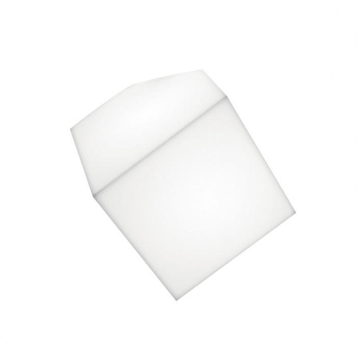 Imagen 1 de Edge Aplique/Plafón 21 E27 20W TCT Difusor en material termoplástico: Blanco