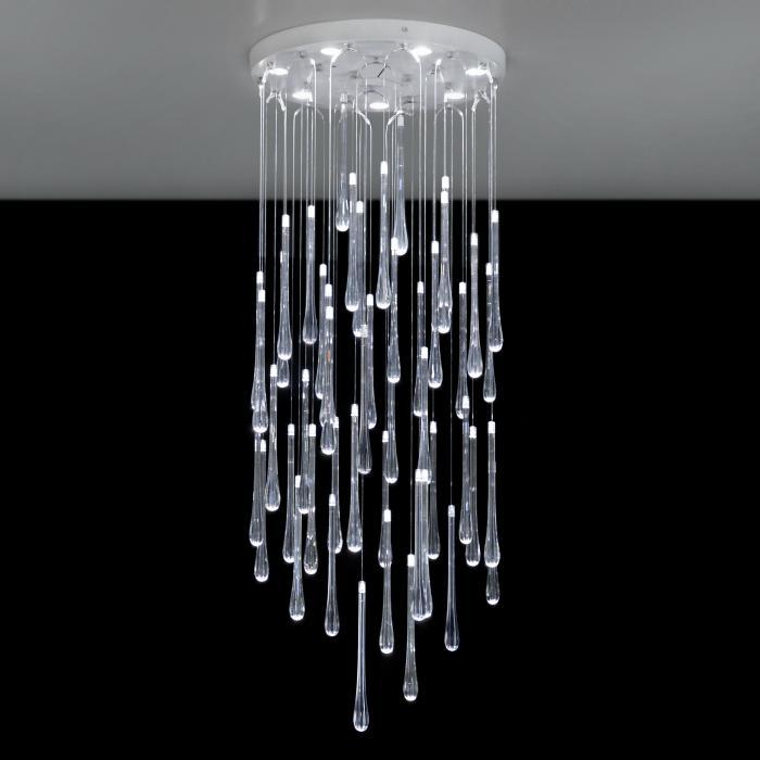 Imagen 1 de Lacrima Plafón LED 7x6W Cristal