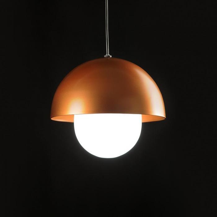 Imagen 1 de Boleta Lámpara colgante LED 7W Ø145 Lacado cobre