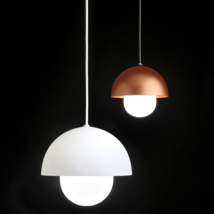 Imagen 1 de Boleta Lámpara colgante LED 11W Ø232 Lacado blanco texturado