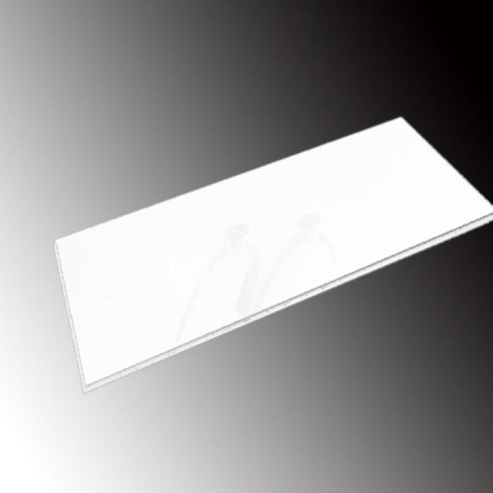 Imagen 1 de Accesorio Cristal pintado blanco 130x1,2x70cm