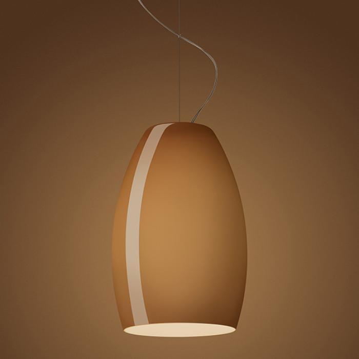 Imagen 1 de Buds 1 (Accesorio) Cristal para lámpara colgante E27 Marrón