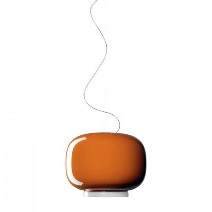 Imagen 1 de Chouchin 1 (Accesorio) Cristal para Lámpara colgante Blanco y naranja
