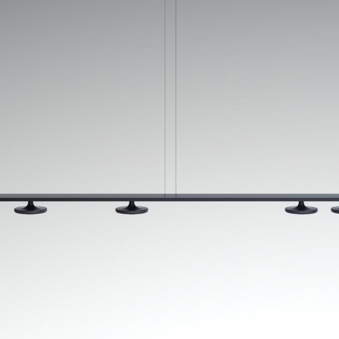 Imagen 1 de Button T-3307 Lámpara colgante (5Luces) LED 5x10W - Negro