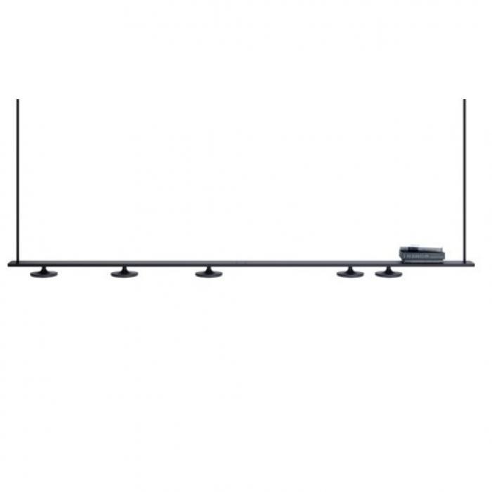 Imagen 1 de Button T-3306 Lámpara colgante (4Luces) LED 4x10W - Negro