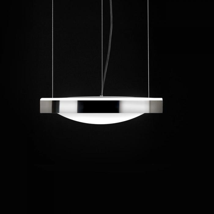 Imagen 1 de Alina Lámpara colgante LED E27 3x12W Lacado aluminio interior lacado negro