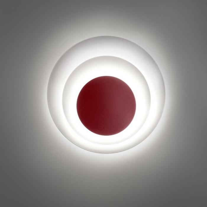 Imagen 1 de Elisa Aplique LED 23,4W Granate mate