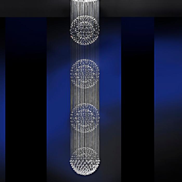 Imagen 1 de LAMP.·ESTRATOS· Ø60 10L 4BOLAS