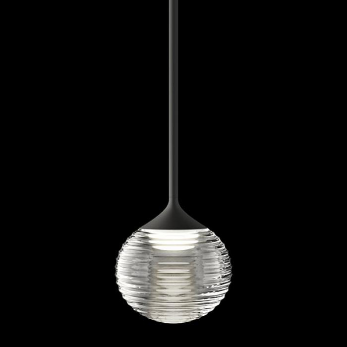 Imagen 1 de Algorithm 0822 Lámpara Colgante max. 200cm 1xLED 3,15W dimmable - Lacado Grafito Mate